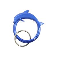 Sculpted Dolphin Carabiner