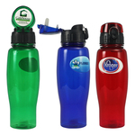 24 oz. Flip-Top Sports Water Bottle w/ Full Color Imprint