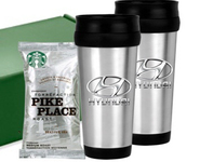 Stainless Tumbler Coffee Gift Set