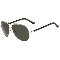 Ferragamo Men's Metal/Leather Aviator