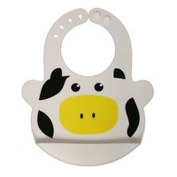 Bruno The Cow Large Bib