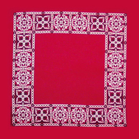 Open Center Paisley Bandanna