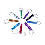 DI-Aluminium Whistle With Keyring