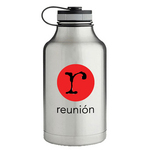 64 Oz. Matted Finish Insulated Stainless Steel Growler