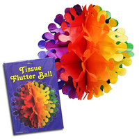 Rainbow Flutter Ball Decoration