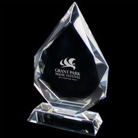 Dew Drop Large Crystal Award