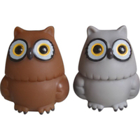 Dinky Rubber Owl
