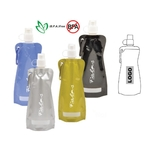 DI-16 oz. Snap-on Foldable Water Bottle