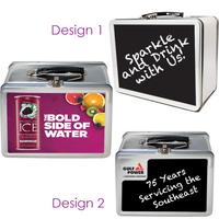 Chalkboard Lunch Box Tin Original Retro Look