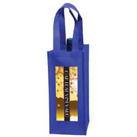 Wine Tote - 1 Bottle Bag in CMYK - Color Evolution