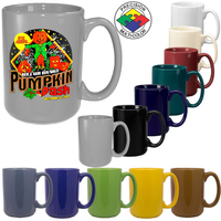 15oz Gloss Colored El Grande Mug, spot color