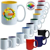 15oz El Grande Two-Tone Mug, spot color