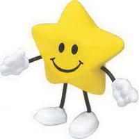 Star Figure Stress Reliever