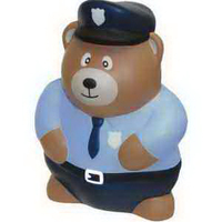Police Bear Stress Reliever