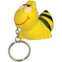 Bee Key Chain Stress Reliever