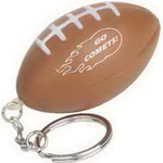 Football Key Chain Stress Reliever