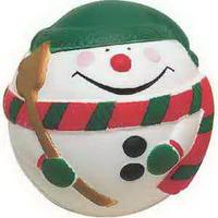 Snowman ball Stress Reliever
