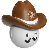 Cowboy Mad Cap Stress Reliever