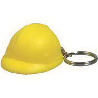 Hard Hat Key Chain Stress Reliever