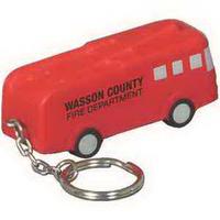 Fire truck key chain