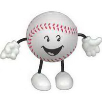 Baseball Figure Stress Reliever