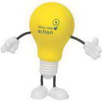 Lightbulb Figure Stress Reliever
