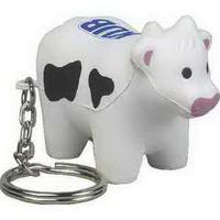 Farm Animal Key Chain Stress Reliever