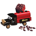 1920-Era Tanker Truck with Chocolate Covered Almonds
