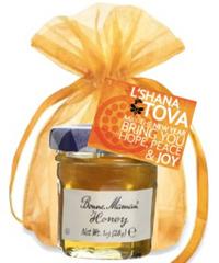 Honey Jar with Custom Hang Tag