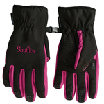 Winter Lined Text Gloves
