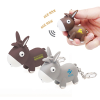 Donkey LED Keylight Keychain Toy