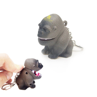 Gorilla LED Keylight Keychain Toy