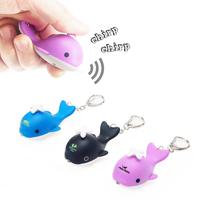Whale LED Keylight Keychain Toy
