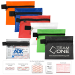 On The Go Kit 1 - 13 Piece First Aid Kit In Zipper Pouch