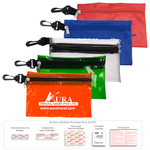 28 Piece Multiple Bandage First Aid Kit in Zipper Pouch