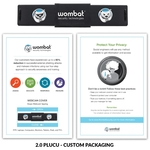 Webcam Cover 2.0PLUS- Black + Custom Packaging + 3Imprints