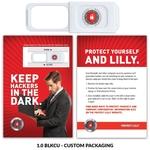Webcam Cover 1.0 - White + Custom Packaging