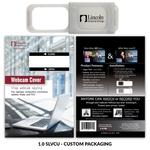 Webcam Cover 1.0 - Silver + Custom Packaging