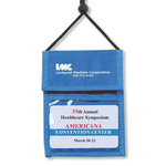 Nylon Multi-Pocket Credential Wallets with Adjustable Strap