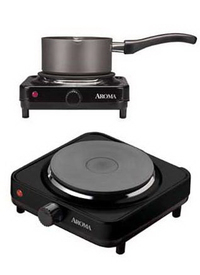 Aroma Single Burner Diecast Hot Plate