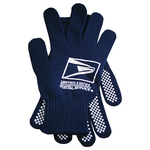Knit Gripper Knit Gloves w. Dots