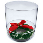 12oz. Plastic Compartment Tumbler - Holiday Themes