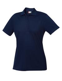 Short Sleeve Women's Plus Elmira Polo Shirt
