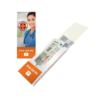 First Aid Pocket Kit - Band Aid, Cortisone, Burn