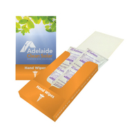 Hand Wipes Pocket Kit With Antiseptic