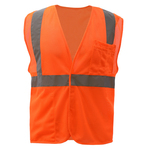 FR Treated Class 2 Safety Vest - Orange