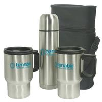 Mug - Stainless Steel Travel Mug Gift Set