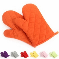 Kitchen Gloves Grill Heat Resistant Gloves Oven Mitts