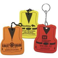 Life Vest Floating Key Tag