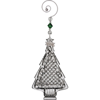 Waterford Christmas Tree Ornament - 4.5""
